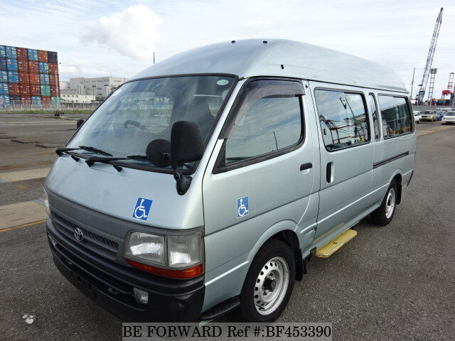 05a64ced3f Used 2002 TOYOTA HIACE COMMUTER HIGH ROOF GE-RZH125B for Sale ...