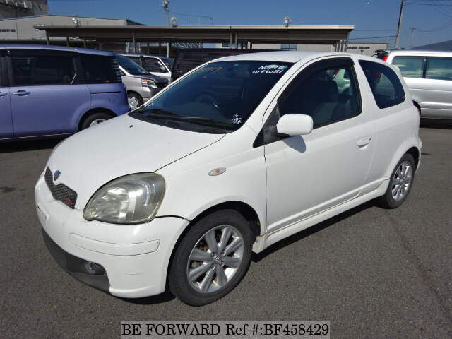 Used 2003 TOYOTA VITZ RSUANCP10 for Sale BF458429  BE FORWARD