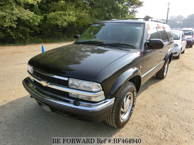 Used 2001 Chevrolet Blazergf Ct34g For Sale Bf464940 Be Forward
