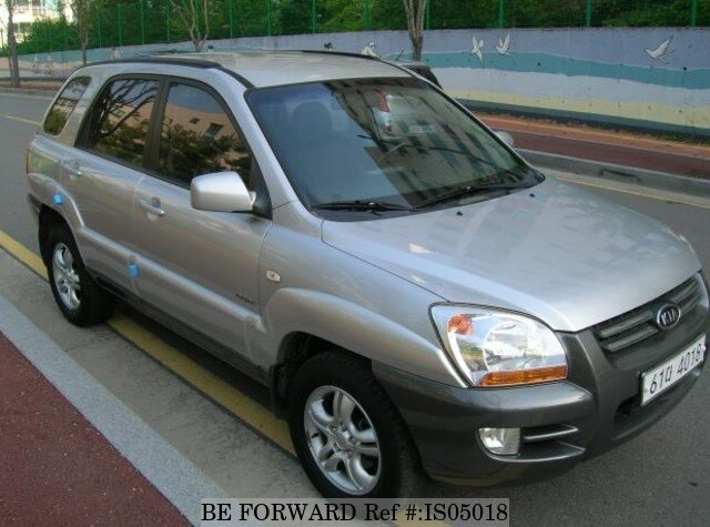 2005 kia sportage lx d 39 occasion en promotion is05018 be. Black Bedroom Furniture Sets. Home Design Ideas