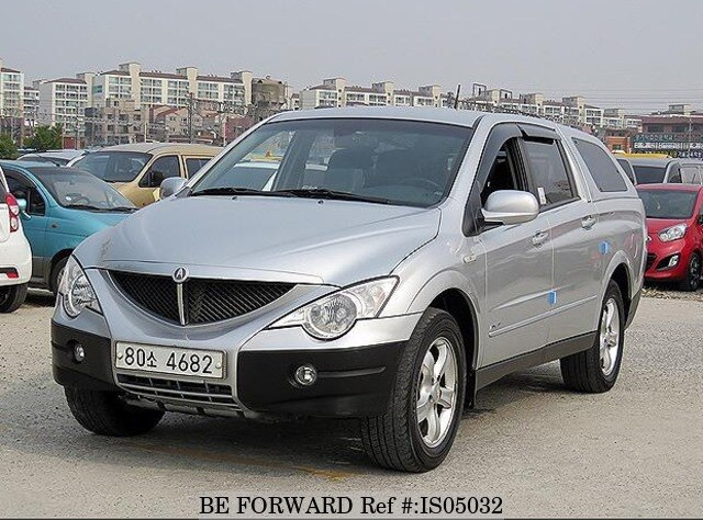 Used 2006 Ssangyong Actyon Sports Ax7 For Sale Is05032 Be Forward