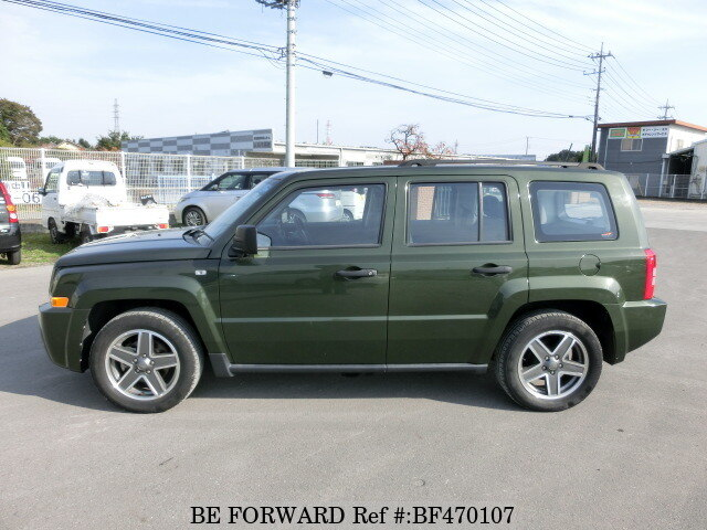 used 2009 jeep patriot sports aba mk74 for sale bf470107 be forward. Black Bedroom Furniture Sets. Home Design Ideas