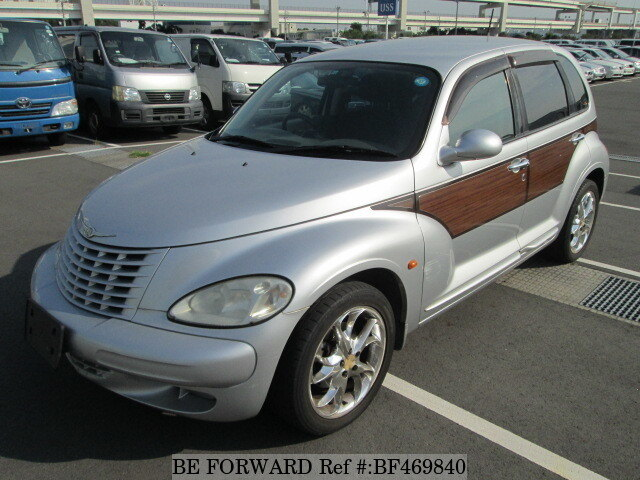 used 2004 chrysler pt cruiser woody classic gh pt2k20 for sale bf469840 be forward. Black Bedroom Furniture Sets. Home Design Ideas