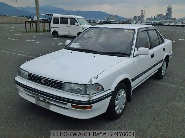 1990 Toyota Corolla Sedan E Ae91 Bf476604 Usados En Venta Be Forward
