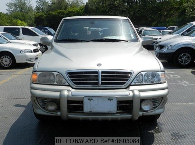 ... Used 2003 SSANGYONG MUSSO IS05084 for Sale Image ...