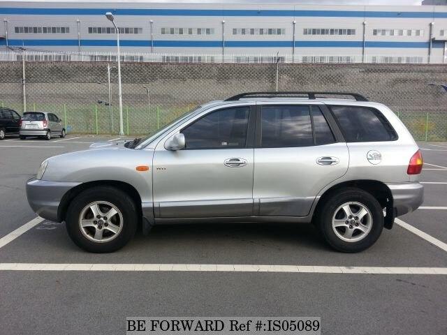 ... Used 2001 HYUNDAI SANTA FE BF817287 For Sale Image ...
