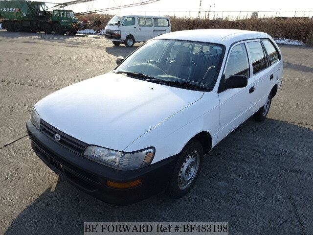 Used 2000 TOYOTA COROLLA VAN DX/GG-EE102V for Sale BF483198 - BE FORWARD