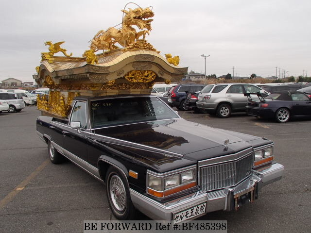 Used 1990 CADILLAC FLEETWOOD/AC15B for Sale BF485398 - BE