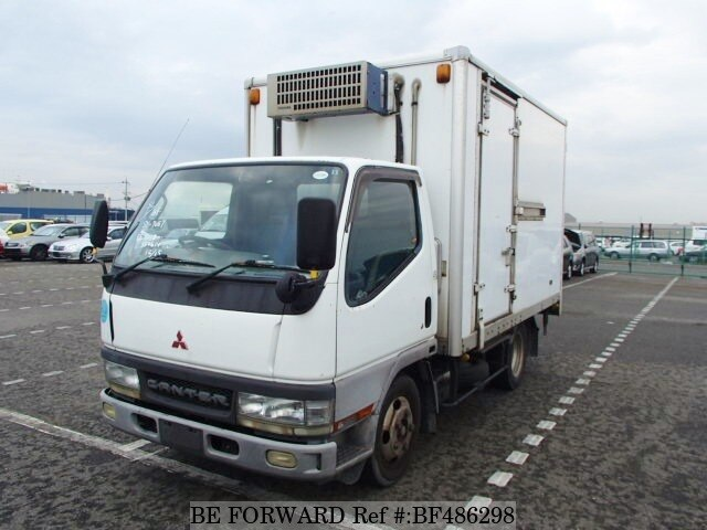 Used 2000 MITSUBISHI CANTER FREEZER/REFRIGERATED VAN/TRUCK