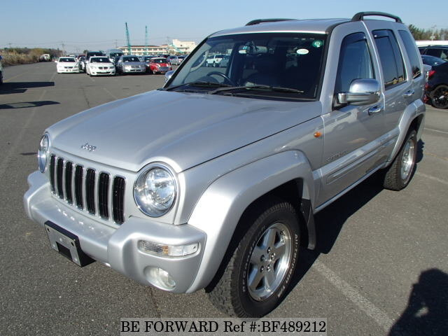 Used 2004 Jeep Cherokee Limited Gh Kj37 For Sale Bf489212 Be Forward