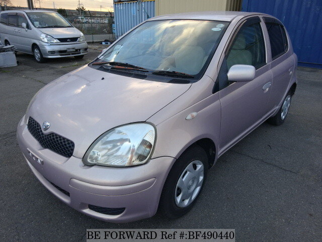 Used 2003 TOYOTA VITZ PAIR STYLEUASCP10 for Sale BF490440  BE