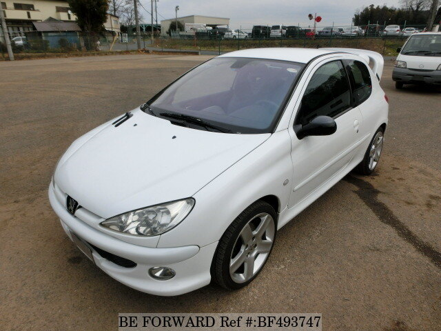 2004 peugeot 206 rc gh 206rc d 39 occasion en promotion bf493747 be forward. Black Bedroom Furniture Sets. Home Design Ideas