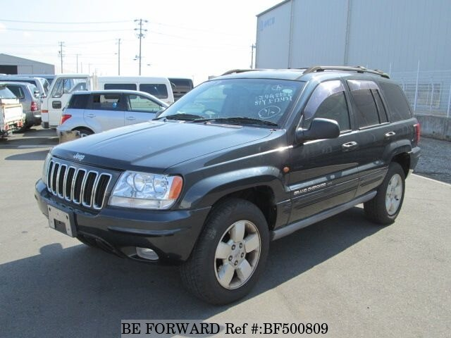 Used 2001 JEEP GRAND CHEROKEE BF500809 For Sale