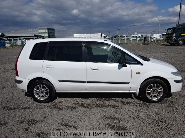 used 2001 mazda premacy gf cp8w for sale bf503708 be forward. Black Bedroom Furniture Sets. Home Design Ideas