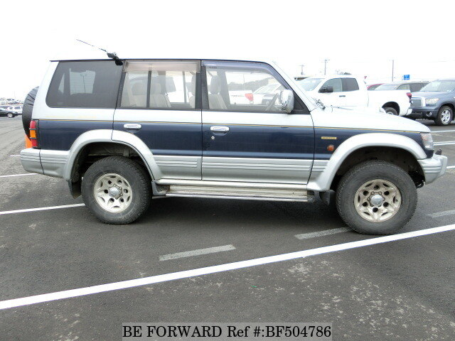 Used 1997 MITSUBISHI PAJERO EXCEED MIDROOF WIDE/KD-V46WG for