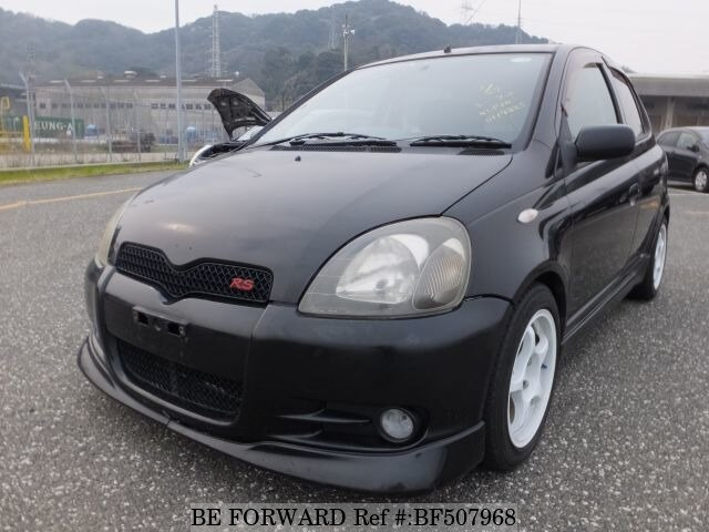 Used 2001 TOYOTA VITZ RSTANCP10 for Sale BF507968  BE FORWARD