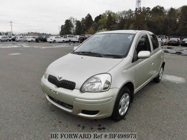 Used 2004 TOYOTA VITZ F L PACKAGECBANCP15 for Sale BF498973  BE