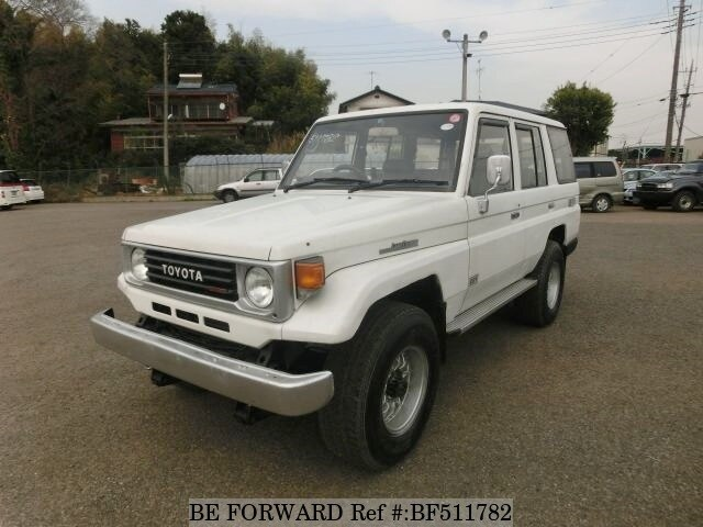 Used 1992 Toyota Land Cruiser S Pzj77v For Sale Bf511782 Be Forward