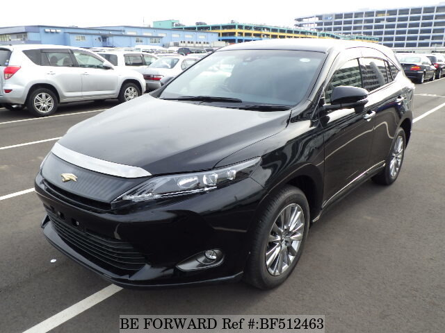 Used 2015 Toyota Harrier Premium Dba Zsu60w For Sale Bf512463 Be