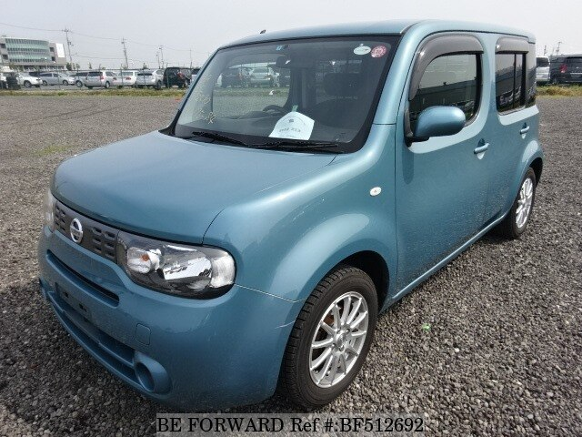 Used 2010 Nissan Cube 15sdba Z12 For Sale Bf512692 Be Forward