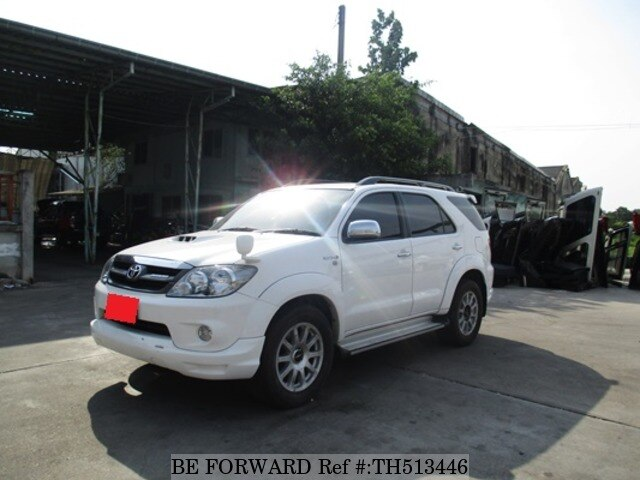 Used 2008 TOYOTA FORTUNER 3 0V/- for Sale TH513446 - BE FORWARD