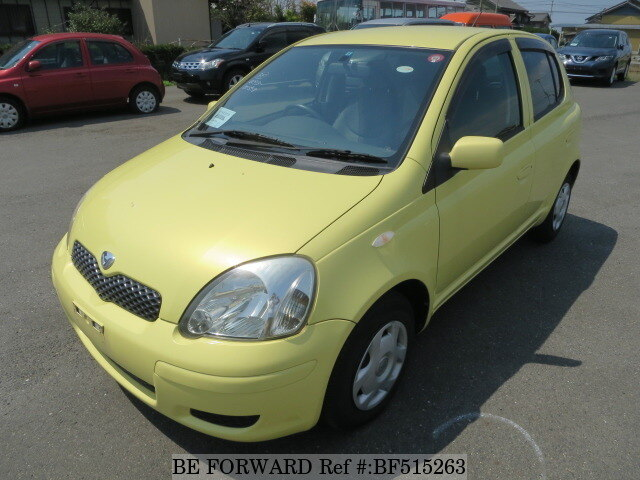 Used 2003 TOYOTA VITZUASCP13 for Sale BF515263  BE FORWARD