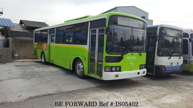 used 2004 hyundai aero bus super aero city for sale is05402 be forward. Black Bedroom Furniture Sets. Home Design Ideas
