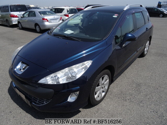 Used 2010 PEUGEOT 308 SW PREMIUM/ABA-T7W5F02 for Sale BF516256 - BE