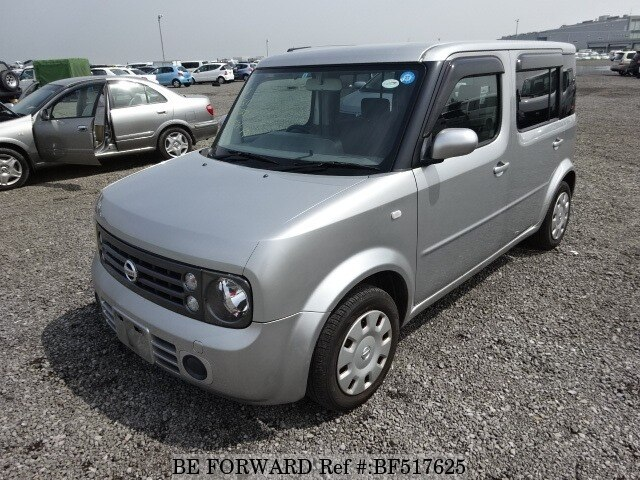 2005 nissan cube cubic 15m dba ygz11 d 39 occasion en promotion bf517625 be forward. Black Bedroom Furniture Sets. Home Design Ideas