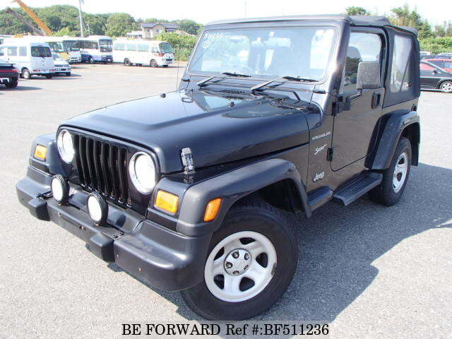 Used 2001 JEEP WRANGLER BF511236 For Sale