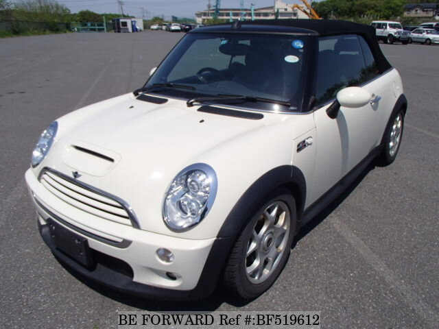 Used 2007 BMW MINI COOPER S CONVERTIBLE GH RH16 For Sale BF519612