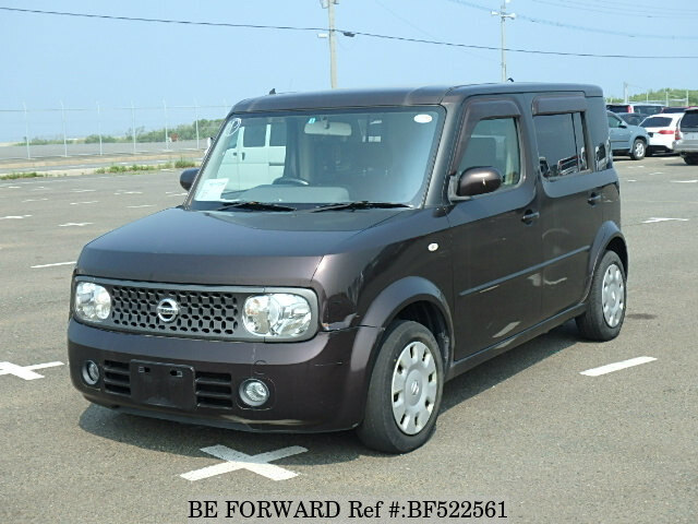 used 2007 nissan cube cubic 15m dba ygz11 for sale bf522561 be forward. Black Bedroom Furniture Sets. Home Design Ideas