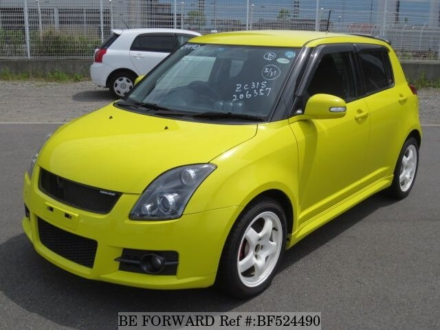 used 2008 suzuki swift sport cba zc31s for sale bf524490 be forward. Black Bedroom Furniture Sets. Home Design Ideas