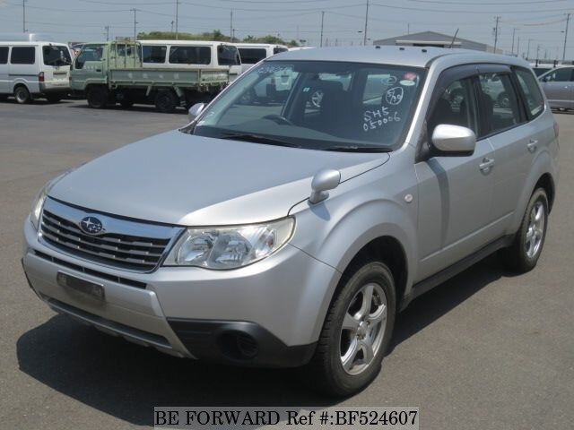 Used 2010 SUBARU FORESTER X/DBA-SH5 for Sale BF524607 - BE FORWARD