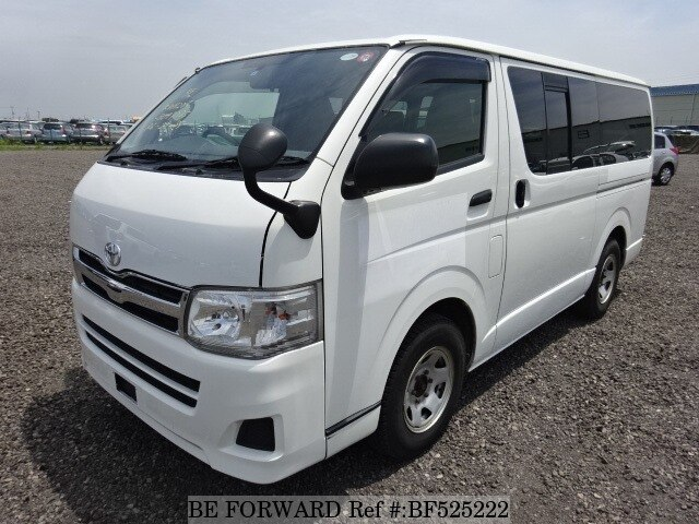 5556e2c13297ec Used 2012 TOYOTA HIACE VAN DX GL PACKAGE LDF-KDH206V for Sale ...