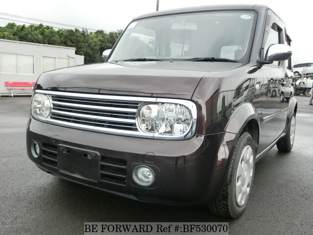 2007 nissan cube dba yz11 d 39 occasion en promotion bf530070 be forward. Black Bedroom Furniture Sets. Home Design Ideas