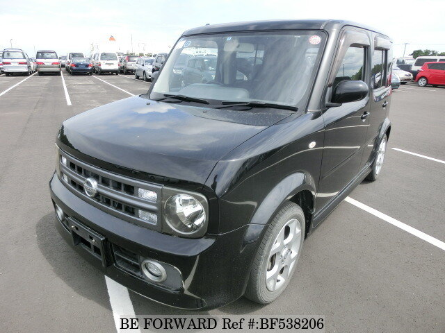 used 2008 nissan cube 15rx dba yz11 for sale bf538206 be forward. Black Bedroom Furniture Sets. Home Design Ideas
