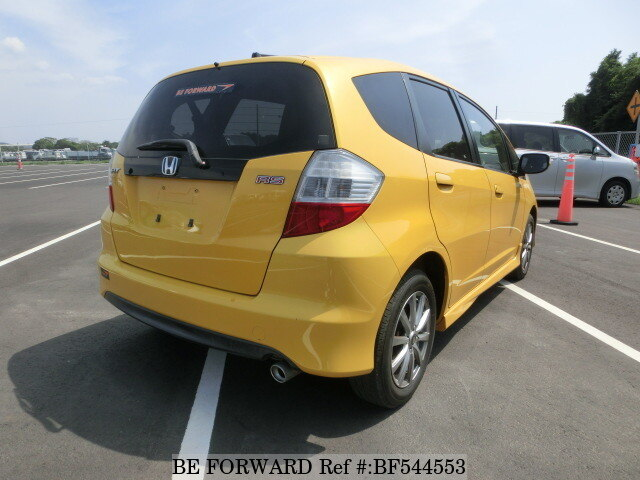 Used 2010 HONDA FIT RSDBAGE8 for Sale BF544553  BE FORWARD