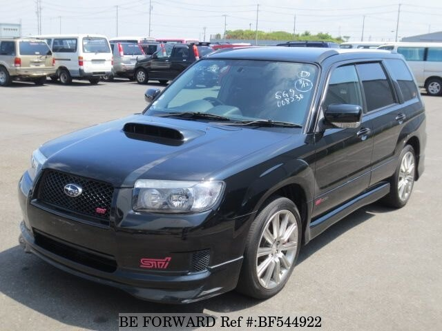 used 2007 subaru forester sti version ta sg9 for sale bf544922 be forward. Black Bedroom Furniture Sets. Home Design Ideas