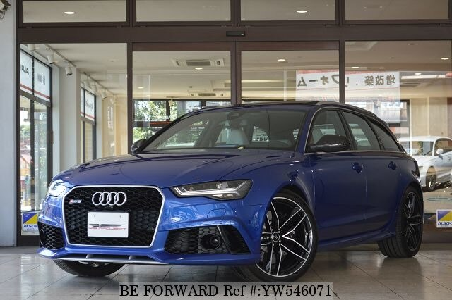 Used AUDI RS AVANT For Sale YW BE FORWARD - Audi rs6 for sale