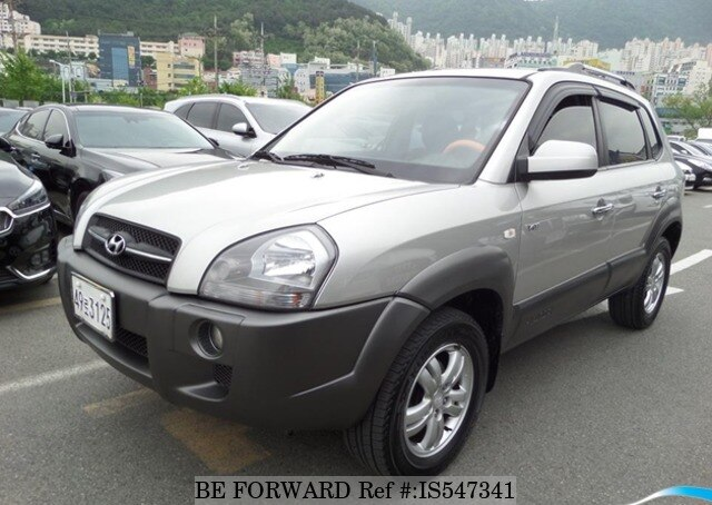 Used 2007 HYUNDAI TUCSON BF547341 For Sale