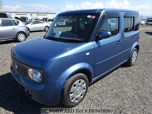 used 2008 nissan cube dba yz11 for sale bf547608 be forward. Black Bedroom Furniture Sets. Home Design Ideas