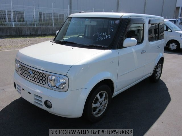 used 2008 nissan cube 15m dba yz11 for sale bf548092 be forward. Black Bedroom Furniture Sets. Home Design Ideas