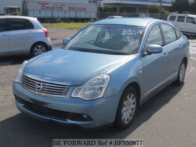 nissan bluebird sylphy automatic 2008