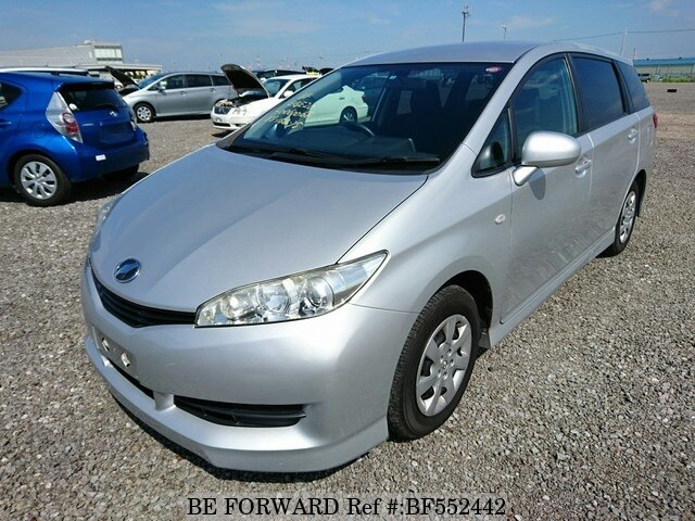 Used 2010 Toyota Wish Dba Zge20g For Sale Bf552442 Be Forward