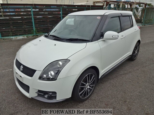 used 2009 suzuki swift sport cba zc31s for sale bf553694 be forward. Black Bedroom Furniture Sets. Home Design Ideas