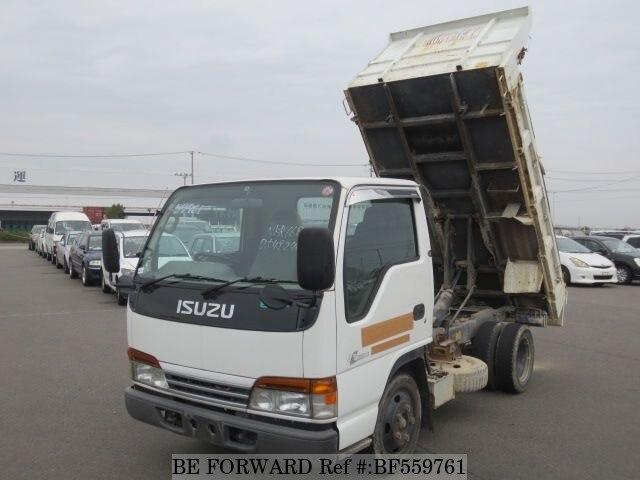 used 2000 isuzu elf truck dump/kk-nkr66ed for sale bf559761 - be forward