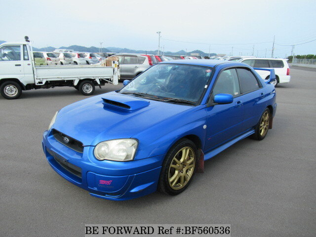 used 2002 subaru impreza wrx sti wrx sti gh gdb for sale. Black Bedroom Furniture Sets. Home Design Ideas