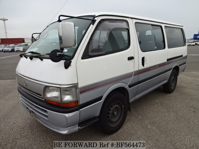 3470d860a8 Used 1996 TOYOTA HIACE VAN SUPER GL KC-LH113V for Sale BF564473 - BE ...