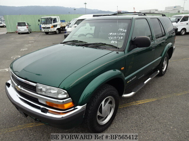 Used 2001 Chevrolet Blazer Lt Gf Ct34g For Sale Bf565412 Be Forward